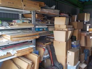 倉庫入口左手のビフォア