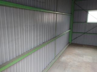 倉庫入口左手のアフター