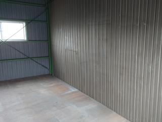 倉庫入口右手のアフター