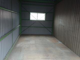 倉庫入口正面のアフター