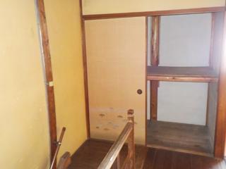 階段上のアフター
