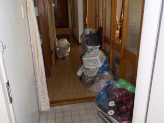 (部屋1)玄関のビフォア