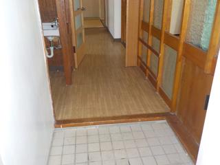 (部屋1)玄関のアフター