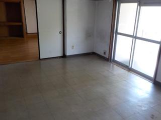 (部屋1)部屋1のリビングキッチンのアフター
