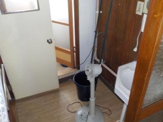 (部屋1)洗面のビフォア