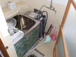 (部屋1)浴室のビフォア