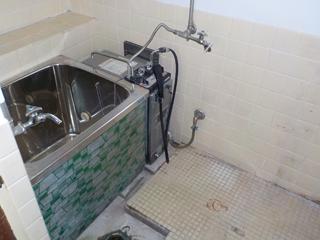 (部屋1)浴室のアフター