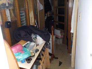 (部屋2)玄関のビフォア