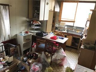 2階キッチンのビフォア