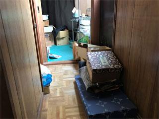 3階廊下のビフォア