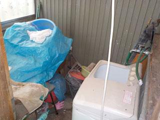 洗濯場のビフォア