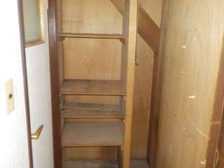 階段下物入れのアフター
