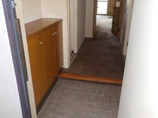 玄関からのアフター