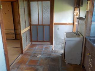 洗面台前のアフター