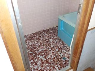 部屋1の浴室のアフター