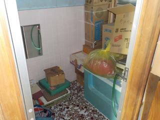 部屋2の浴室のビフォア