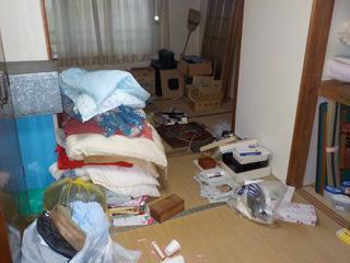部屋2部屋1のビフォア