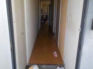 玄関のビフォア