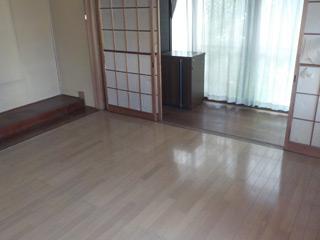 床の間のアフター