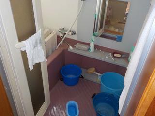 2F浴室のビフォア