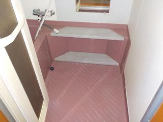 2F浴室のアフター
