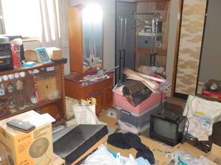 部屋5のビフォア