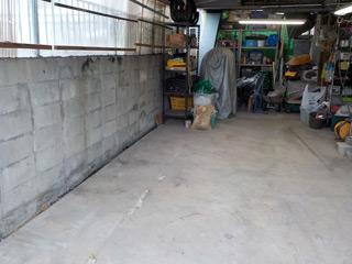 倉庫左手のアフター