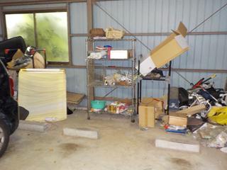 車庫のビフォア