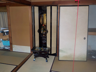 部屋4(仏間)のアフター
