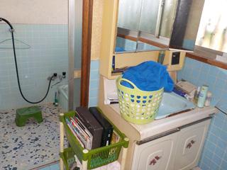 洗面・浴室のビフォア