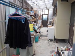 倉庫のビフォア
