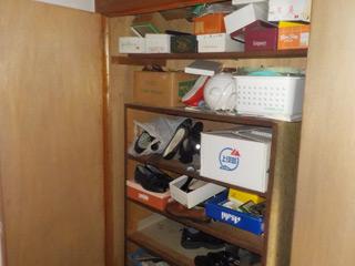 靴箱のビフォア