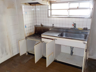 キッチン納戸のビフォア