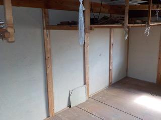 部屋5(2F倉庫)のアフター
