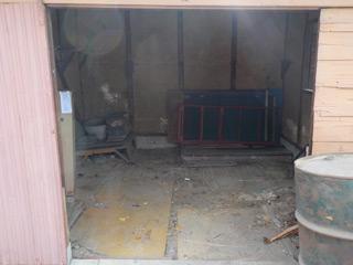 倉庫1正面のアフター
