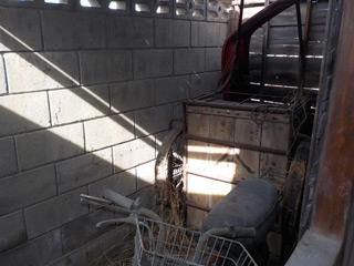 倉庫横の物置のアフター