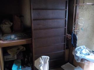 部屋2の押入れビフォア