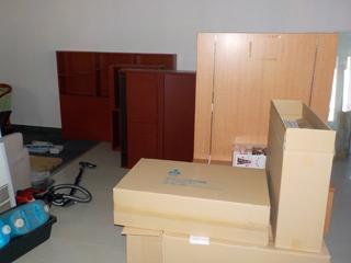 倉庫1部屋1のビフォア