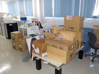 倉庫1部屋2のビフォア