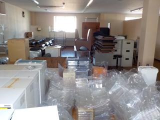 倉庫2のビフォア
