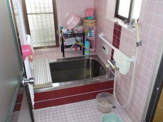 浴室のビフォア