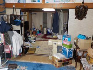 部屋2から部屋2のビフォア