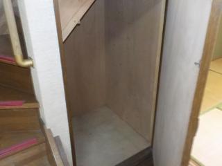 1階収納のアフター