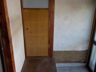 玄関内部のアフター
