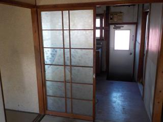 部屋2からキッチン側のアフター