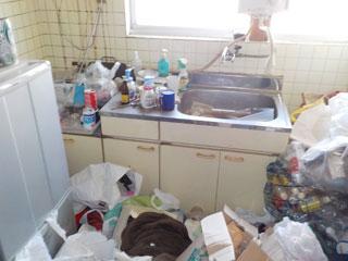 家1のキッチンのビフォア