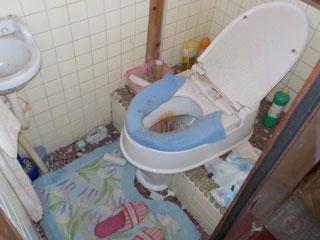 家1トイレのビフォア