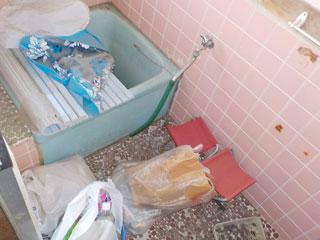 家1浴室のビフォア