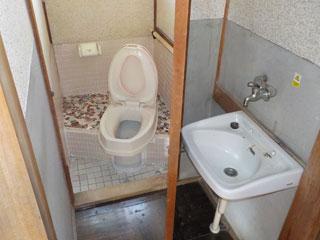 洗面トイレのアフター