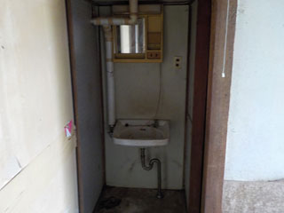 トイレ前のアフター